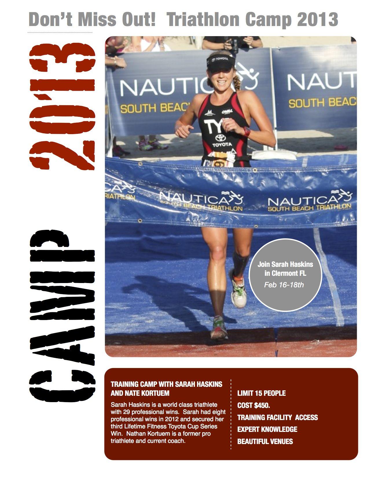 Triathlon Camp 2013 @
